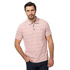 RJR.John Rocha - Big and tall pink striped polo shirt