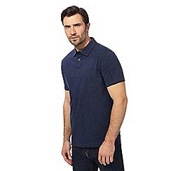 RJR.John Rocha - Navy spotted print polo shirt