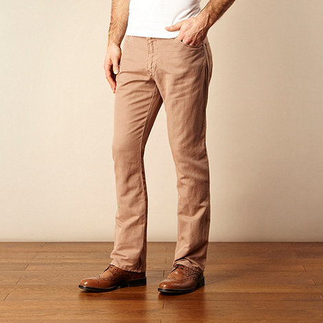 RJR.John Rocha - Pale pink textured trousers