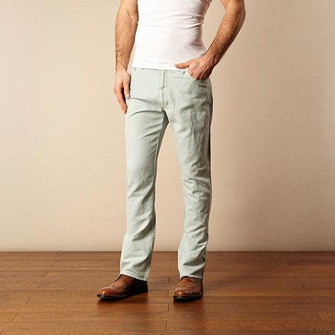 RJR.John Rocha - Aqua textured trousers