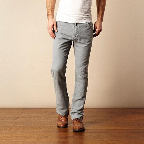 RJR.John Rocha - Light blue textured trousers