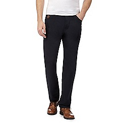 RJR.John Rocha - Navy straight leg trousers