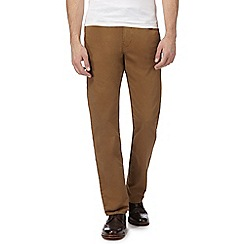 RJR.John Rocha - Tan straight leg trousers