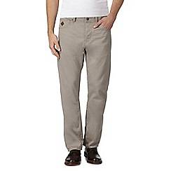 RJR.John Rocha - Big and tall natural waffle textured trousers