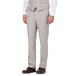 RJR.John Rocha - Big and tall natural linen blend trousers