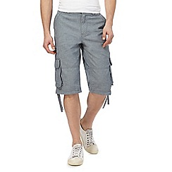 RJR.John Rocha - Blue zip pocket shorts