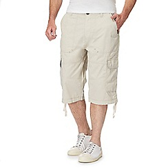 RJR.John Rocha - Big and tall natural cargo shorts