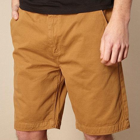RJR.John Rocha - Designer mustard chino shorts