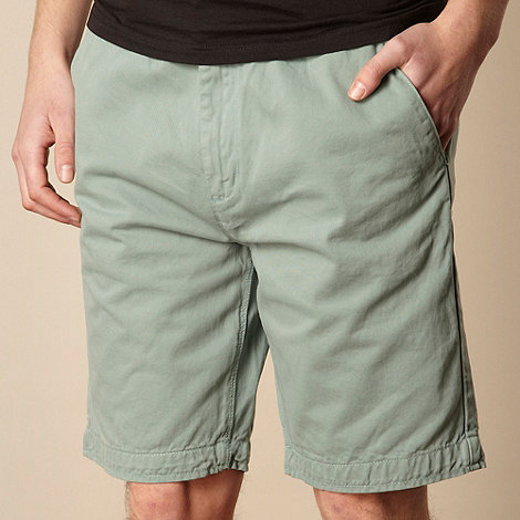 RJR.John Rocha - Designer pale green chino shorts