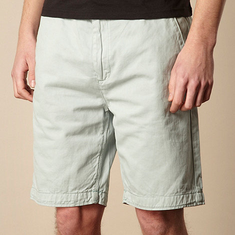 RJR.John Rocha - Designer light turquoise chino shorts
