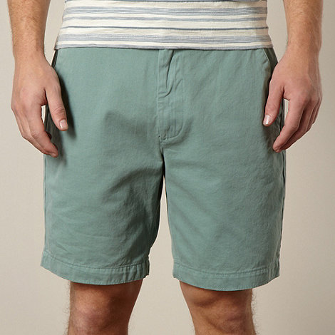RJR.John Rocha - Big and tall designer pale green twill chino shorts