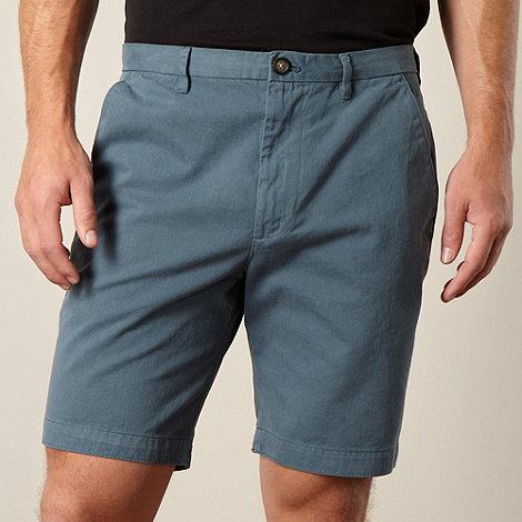 RJR.John Rocha - Designer turquoise twill chino shorts