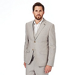 RJR.John Rocha - Big and tall natural linen blend blazer