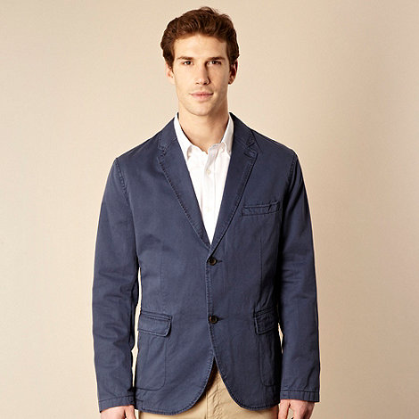 RJR.John Rocha - Big and tall blue tailored lightweight jacket