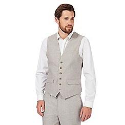RJR.John Rocha - Natural linen blend waistcoat