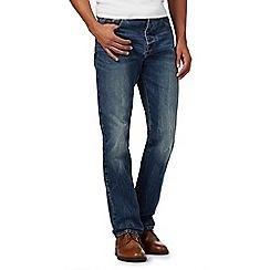 RJR.John Rocha - Blue mid wash straight leg jeans