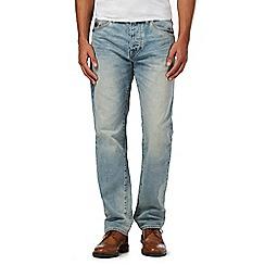 RJR.John Rocha - Big and tall blue light wash straight leg jeans