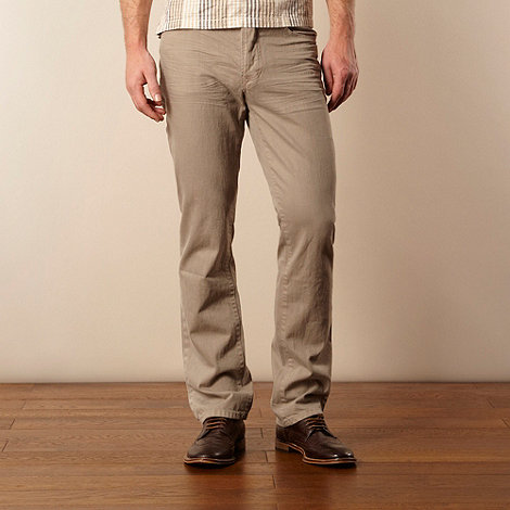 RJR.John Rocha - Grey straight leg jeans