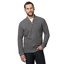 RJR.John Rocha - Dark grey baseball sweater