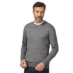 RJR.John Rocha - Big and tall grey crew neck jumper