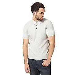 RJR.John Rocha - Natural textured polo shirt