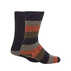 Mantaray - Pack of two assorted boot socks