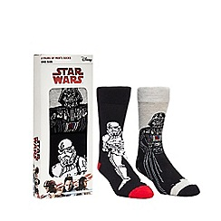 Star Wars - Pack of two 'Star Wars' novelty socks