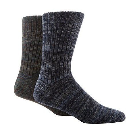 Mantaray - Pack of two knitted casual socks