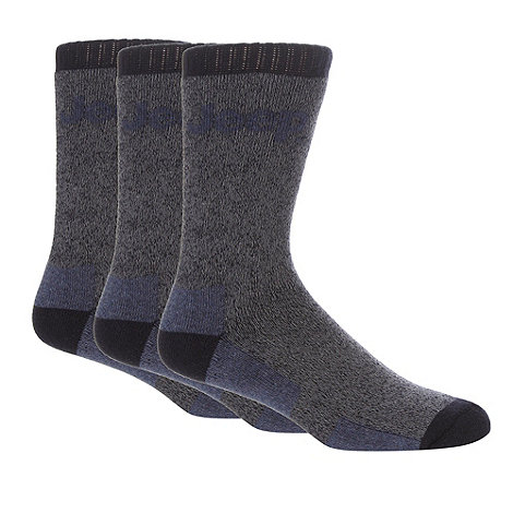 Jeep - Pack of two blue boot socks