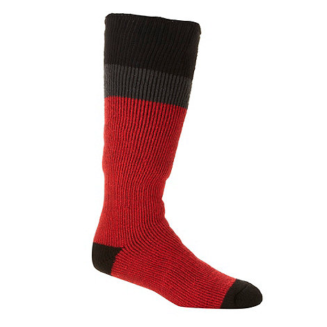 Heat Holders - Red thermal ski socks