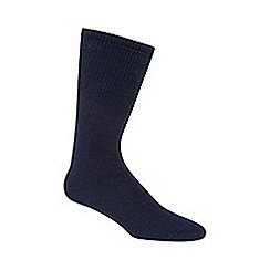 H.J.Hall - Navy 'Comfort Fit Diabetic' socks