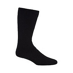 H.J.Hall - Black 'Comfort Fit Diabetic' socks