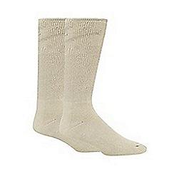 H.J.Hall - Beige 'Comfort Fit Diabetic' socks