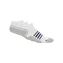 Debenhams Basics - Pack of three white technical trainer socks