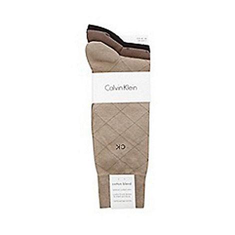 Calvin Klein - Pack of three micro design socks