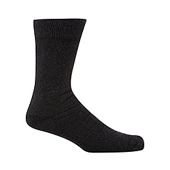 H.J.Hall - Grey anti-blister cotton socks
