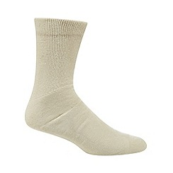H.J.Hall - Beige anti-blister cotton socks