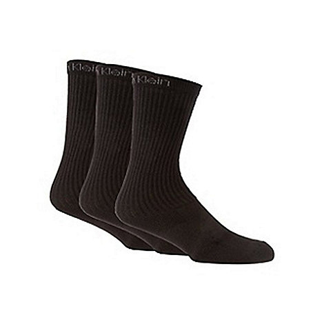 Calvin Klein - Pack of three black sports socks