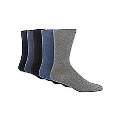 Freshen Up Your Feet - Pack of five chunky knit socks