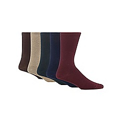 Freshen Up Your Feet - Pack of five assorted plain socks