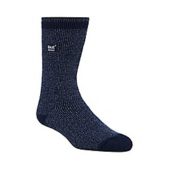 Heat Holders - Navy 2.3 tog twisted yarn socks