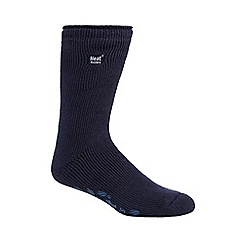 Heat Holders - Blue 2.3 tog thermal slipper socks