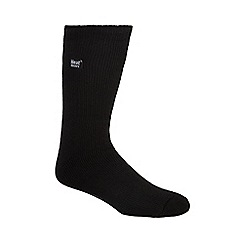 Heat Holders - Black 2.3 tog thermal slipper socks