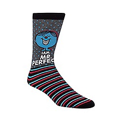 Debenhams - Black 'Mr Perfect' socks