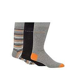 Calvin Klein - Pack of three assorted patterned socks