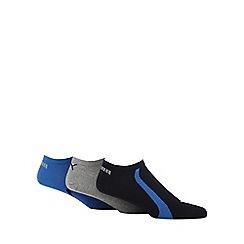 Puma - Pack of three assorted logo trainer socks