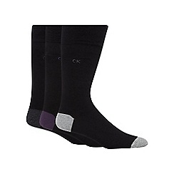 Calvin Klein - Pack of three black socks