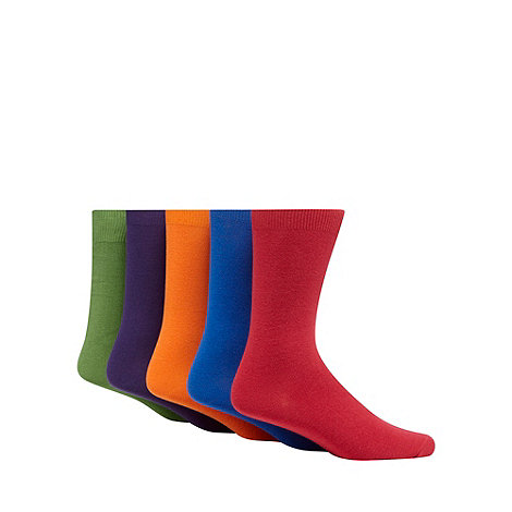 Freshen Up Your Feet - Pack of five bright coloured socks
