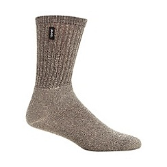 Jeep - Pack of three brown sock