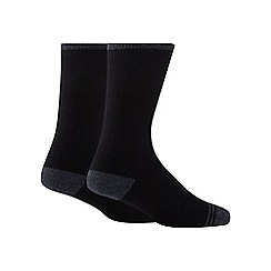 Maine New England - Pack of two black thermal socks